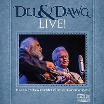 Del McCoury & David Grisman - import USA Del & Dawg Live [CD]