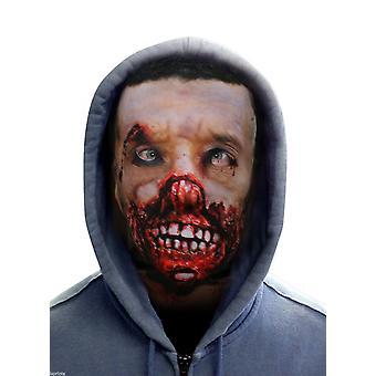 Wild star hearts - rotting face zombie - lycra face mask