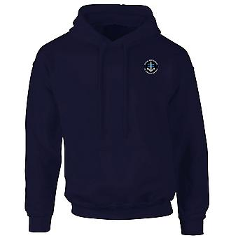 SBS Special Boat Service - Royal Marines Special Forces Logo brodé - MOD officiel - Hoodie