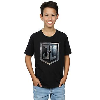 DC Comics Boys Justice League Movie Shield T-Shirt