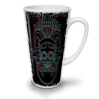 Native Metal Death NEW White Tea Coffee Ceramic Latte Mug 12 oz | Wellcoda