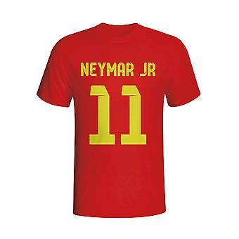 Neymar Barcelona Hero T-shirt (red) - Kids