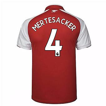2017-18 arsenal thuis Shirt (Mertesacker 4)