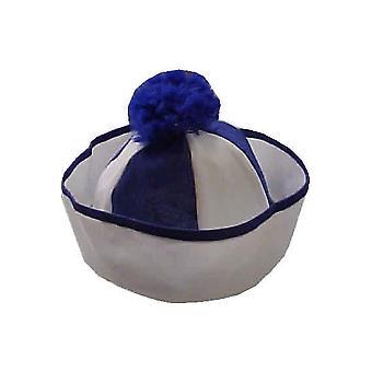 Hoeden Sailor hoed blauw wit