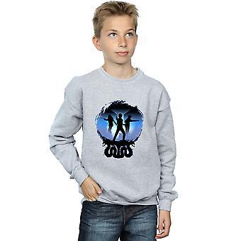 Harry Potter Boys Attack Silhouette Sweatshirt
