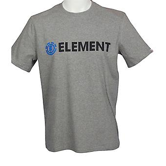 Elementet menns Heather T-Shirt ~ Blazin grå