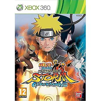 Naruto Shippuden Ultimate Ninja Storm - Sukupolvet (Xbox 360) - Uusi
