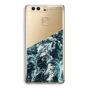Huawei P9 boîtier Transparent (doux) - Ocean Wave