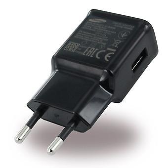 Samsung EP-TA20EBE Schnelllade Netzteil, Ladekabel USB-C EP-DW700CBE schwarz, Galaxy S10 S9 S8 Note 8 9 Bulk
