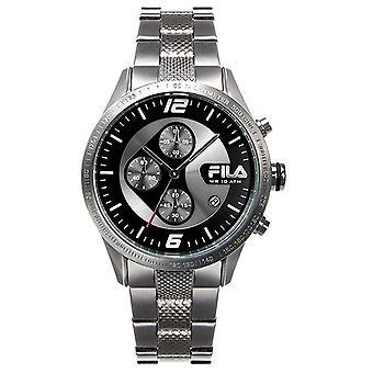 Fila heren horloge chronograaf roestvrijstaal FA38-001-001