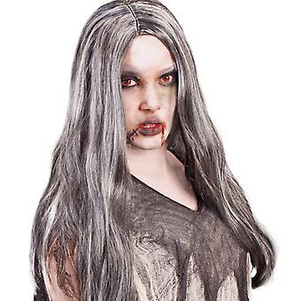 Zombie zillah Halloween centrum sära grå