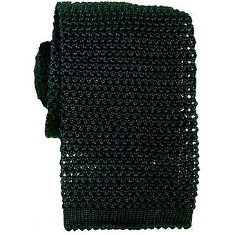 KJ Beckett Bottle Knitted Silk Tie - Green