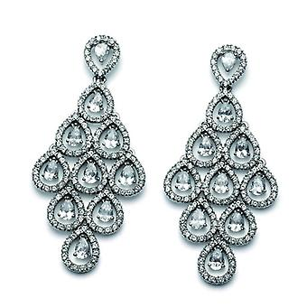 Oliver Weber Post Earring Diva Gold Crystal