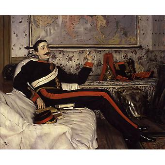 Cfolonel Frederick Burnaby, James Tissot, 49.5 x 56.7 cm