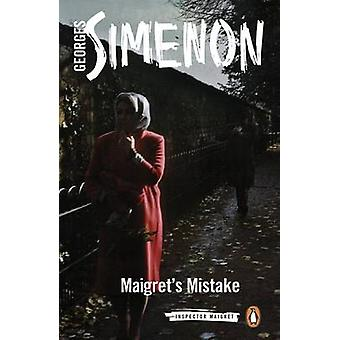 Maigret virhe Georges Simenon - Howard Curtis - 9780241279847