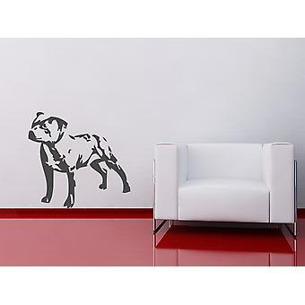 Staffordshire Bull Terrier Wall Sticker