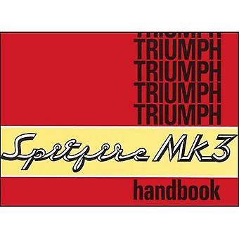 Triumph Spitfire Mk 3 proprietari manuale: Numero del pezzo 545017