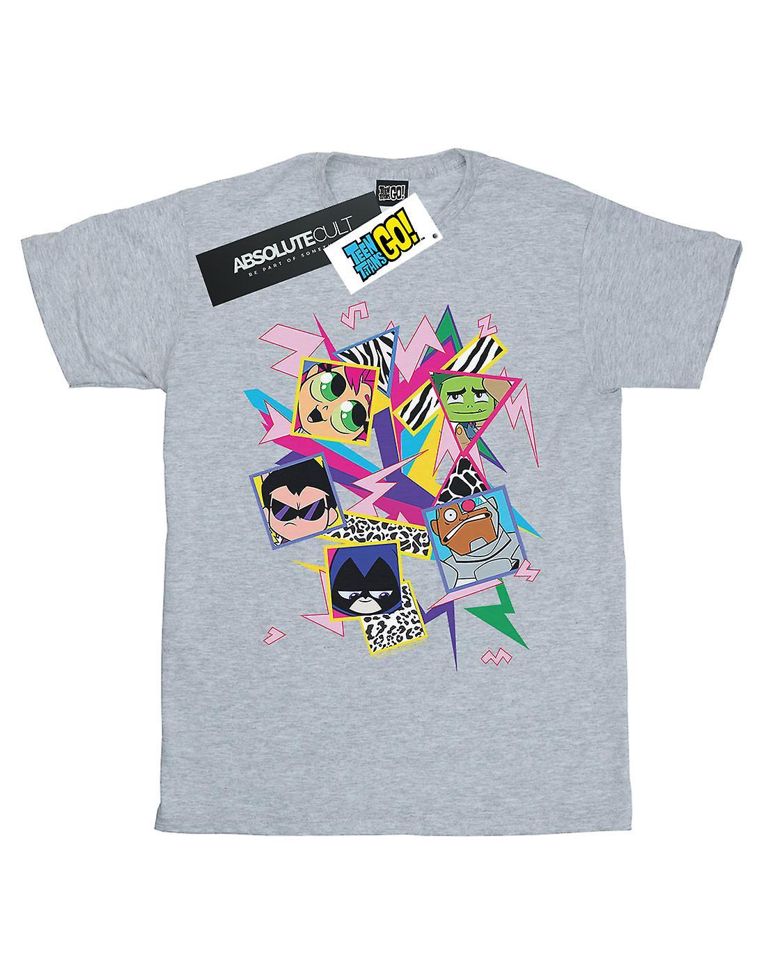 DC Comics Boys Teen Titans Go 80s Icons T-Shirt