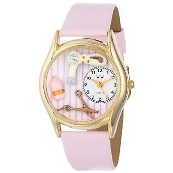 Whimsical Watches C-0630007-unisex wristwatch leather, color: multicolor