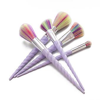5pcs Makeup Brushes-Unicorn