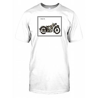 BSA 1930 Sloper - klassieke motor Mens T Shirt