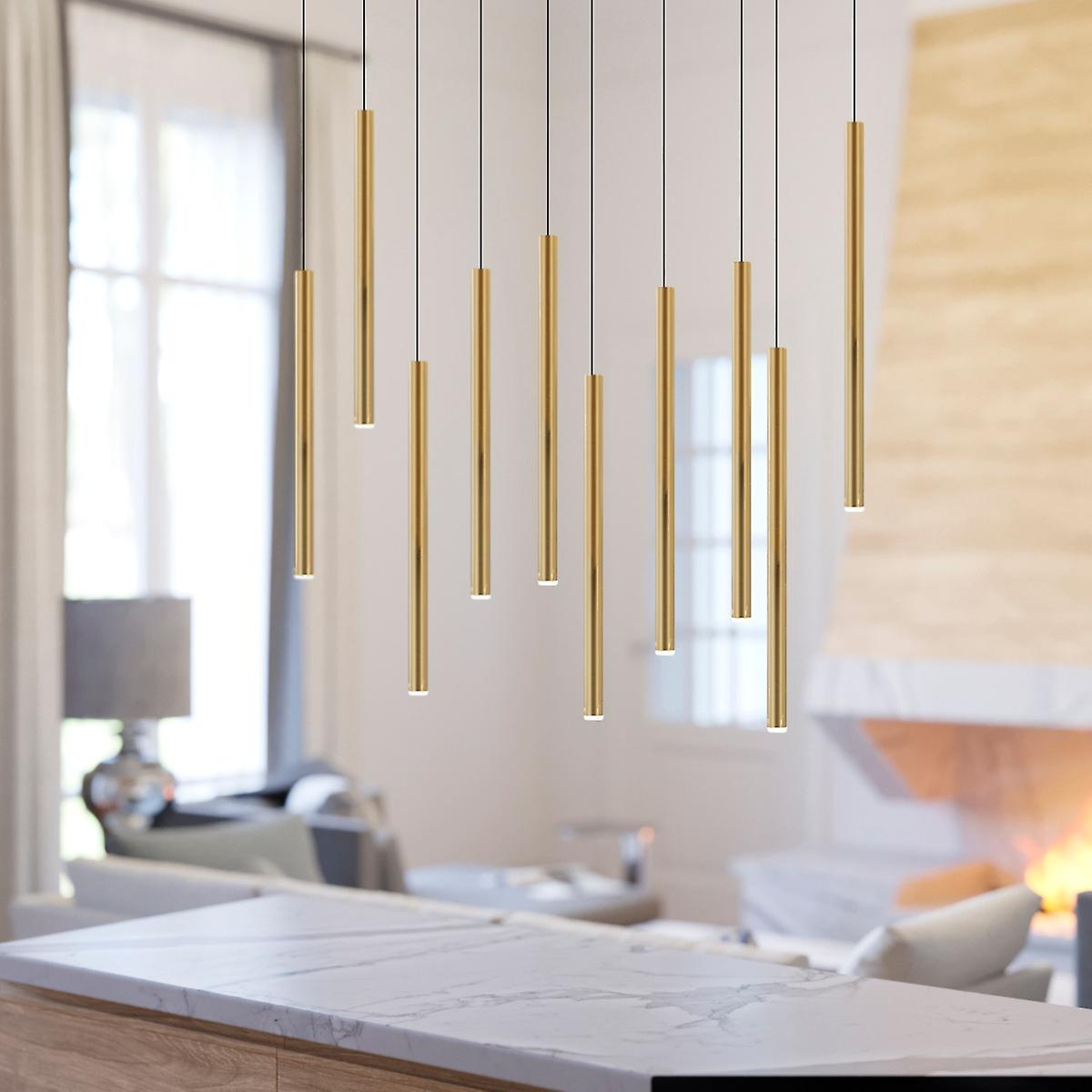 Pendant Lighting Kitchen Lamp Bedroom Ceiling Lights 10 Pendants Rectangular Canopy