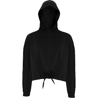 Outdoor Look Womens/Ladies Cropped Oversize Drawcord Hoodie