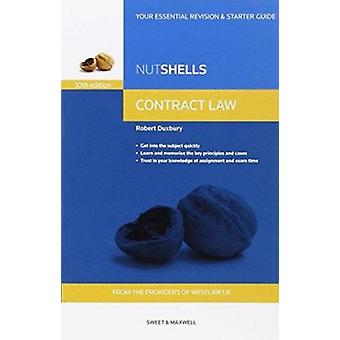 Nutshells Contract Law (10th Revised edition) by Robert Duxbury - 978