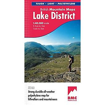 Lake District (2nd Revised edition) by Harvey Map Services Ltd. - 978