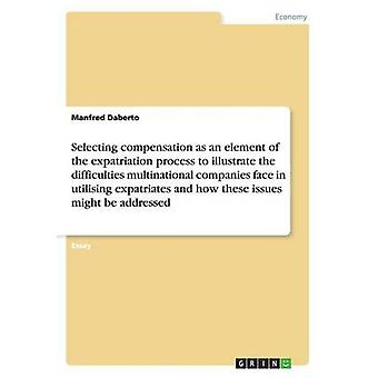 Selecting Compensation as an Element to Illustrate the Difficulties M