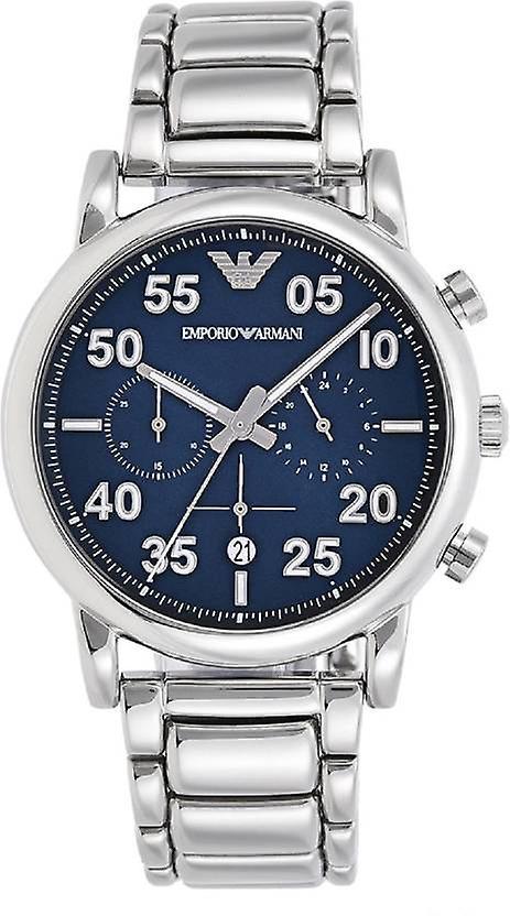 Emporio Armani Ar11132 Sport Chronograph Blue Dial Men's Watch
