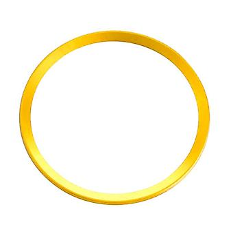 Decorative ring for steering wheel, Audi gold