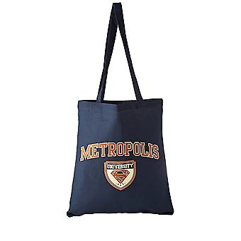 Superman Metropolis Universiteit Tote Bag