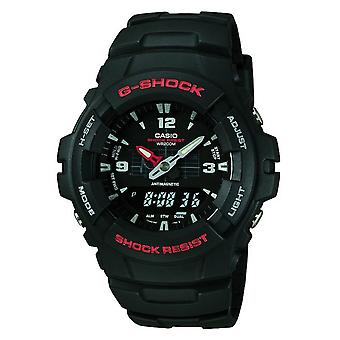 Casio G-Shock World Time Men's Black Watch GA-100-1A4ER