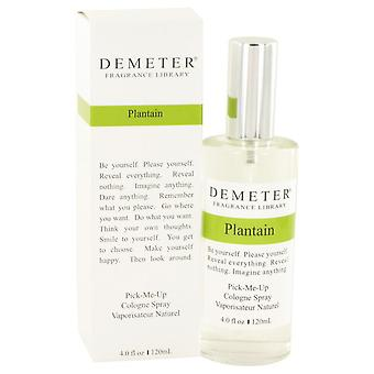 Demeter plantain cologne spray by demeter 526700 120 ml