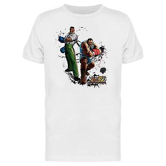 Street Fighter IV Dudley Balrog tee Men ' s-Capcom designs