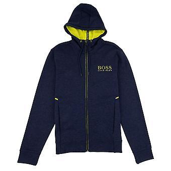 Hugo Boss saggy hoodie azul/amarelo