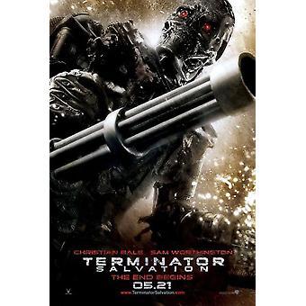 Terminator (kaksipuolinen) (Endoskeleton) alkuperäinen elokuva juliste