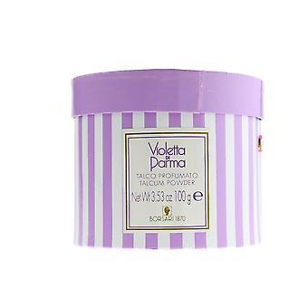 Borsari 'Violetta Di Parma' Talcum Powder 3.53oz/100g New In Box