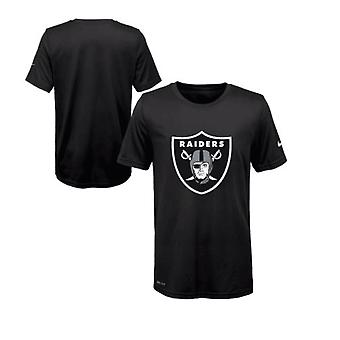 Nike NFL Oakland Raiders Legend logo Essential 3 Dri-Fit Youth T-shirt