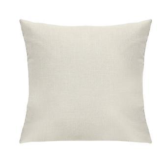 White Tweed Pillow