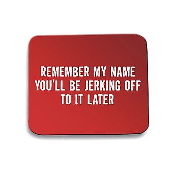 Red mouse pad pad trk0211 jerk off rk