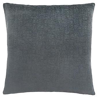 "18"" x 18"" Dark Grey, Mosaic Velvet - Pillow"
