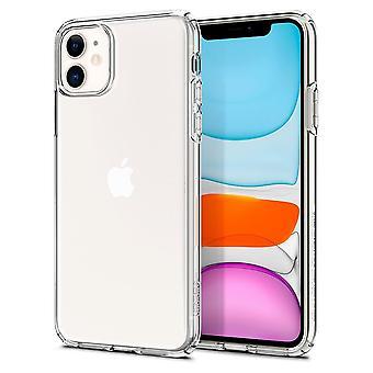 Case Voor iPhone 11 Liquid Crystal Transparant