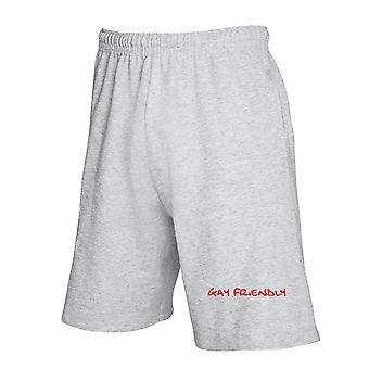 Pantaloncini tuta grigio fun2745 gay friendly