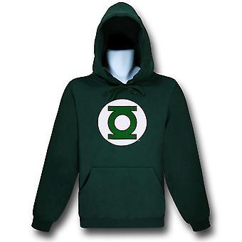 Grön lykta hoodie