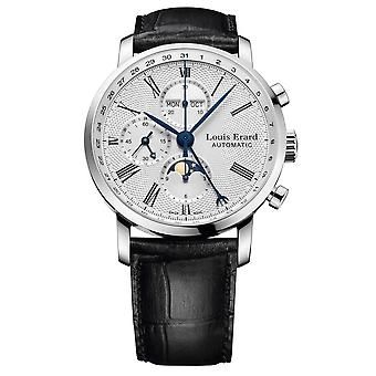 Louis Erard 80231AA21. BDC51 Excellence Collection automatisk Armbåndwatch