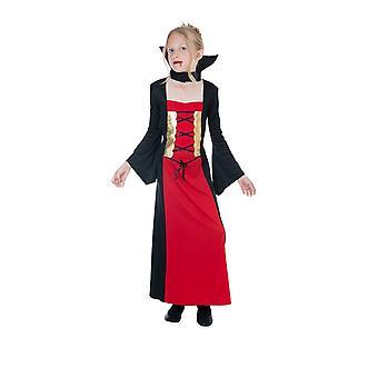 Dark vampire Countess Blood Countess vampire child costume