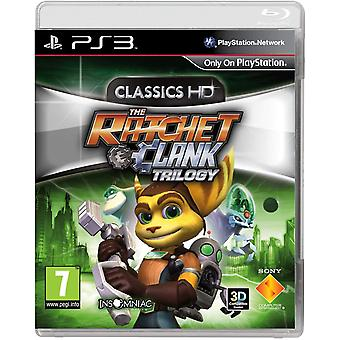 De Ratchet & Clank Trilogy Classics HD PS3 spel