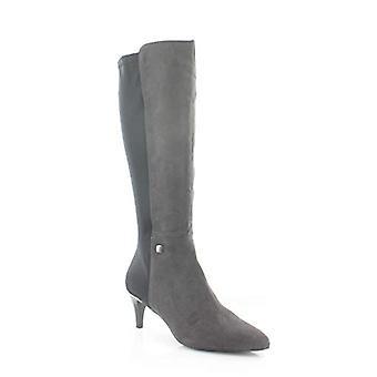 Alfani Womens Hakuuf Leather Closed Toe Knee High Fashion Boots